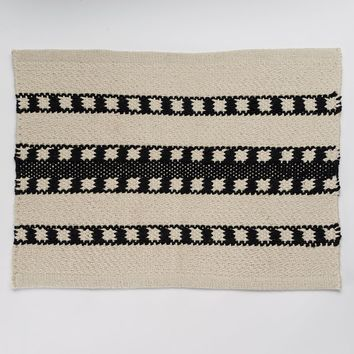 SONOMA life + style Ethnic Stripes Placemat (Black)