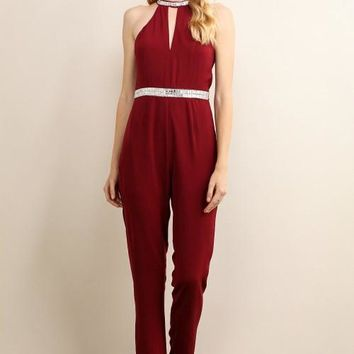 Jumpsuit With Embellishments
