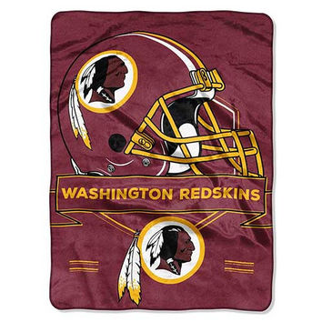Washington Redskins Prestige 60x80 NFL Blanket - Free Shipping in the Continental US!