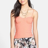 Frenchi Bustier Camisole (Juniors)