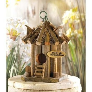 Bed And Breakfast Theme Birdhouse