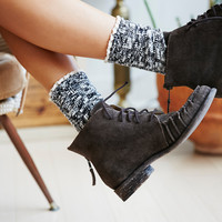 Free People Melbourne Heathered Crew Socks