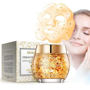 Beauty Face Mask Plant Osmanthus Bright Petals Clay Sleeping Moist Facial Mask