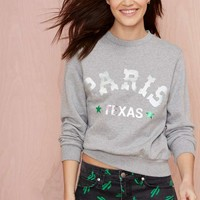 American Retro Paris Texas Sweatshirt