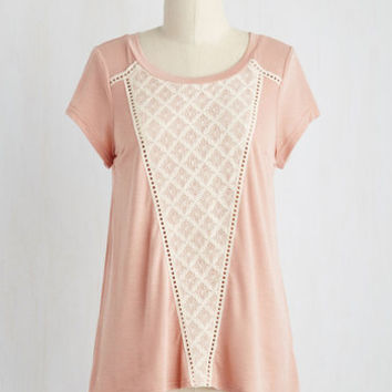 Fairytale Mid-length Short Sleeves Prim Pseudonym Top