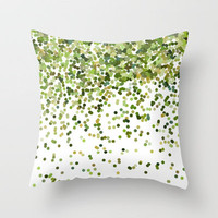 Keep on Falling Throw Pillow by Beth Thompson | Society6