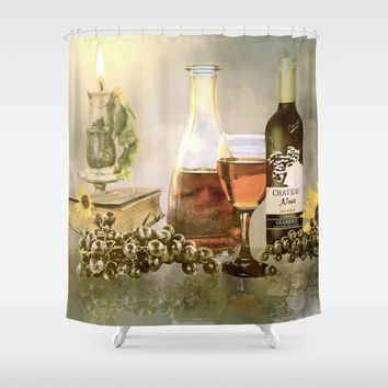 Dreams of Tuscany Shower Curtain by Theresa Campbell D'August Art