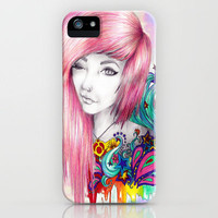 Leda iPhone Case by Krista Rae | Society6