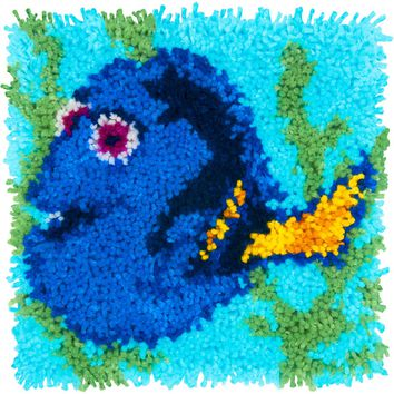 "Dory - Finding Dory Disney Latch Hook Kit 12""X12"""
