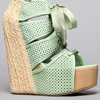 The Sazzy Shoe in Green
