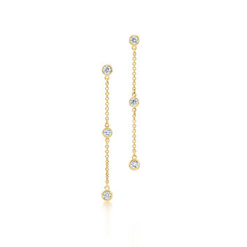 Tiffany & Co. - Elsa Peretti®:Diamonds by the Yard®Drop Earrings