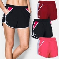 ONETOW Under Armour Women Sports Running Shorts