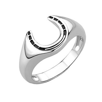 True Grit - Men's High Polished Stainless Steel Ring