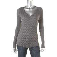 INC Womens Knit Long Sleeves Pullover Sweater