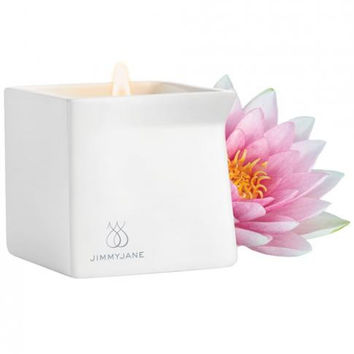 Jimmyjane Afterglow Natural Massage Candle - Pink Lotus