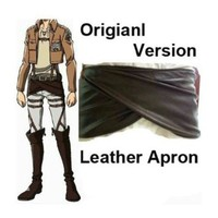SHF Attack on Titan Shingeki No Kyojin Leather Apron-SIZE LARGE