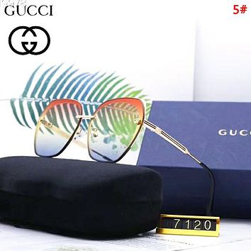 GUCCI Fashion New Polarized Sun Protection Women Men Glasses Eyeglasses 5#