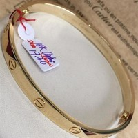 Cartier Inspired Love Bangles