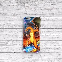 Pokemon Go Charizard iPhone 4 5 5c 6 6plus and Samsung Galaxy S5 Case