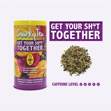 Snarky Tea - Get Your Shit Together Tea - 15 Pyramid Sachets