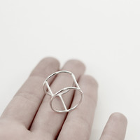 Silver Personal 02 Armor Ring