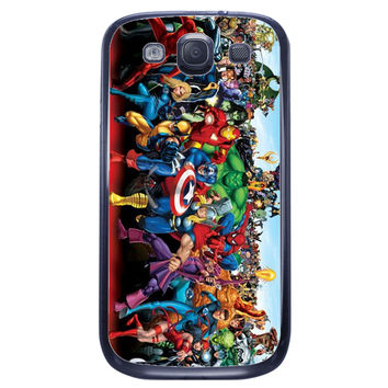 X Men Iron Man Samsung Galaxy S3 Case