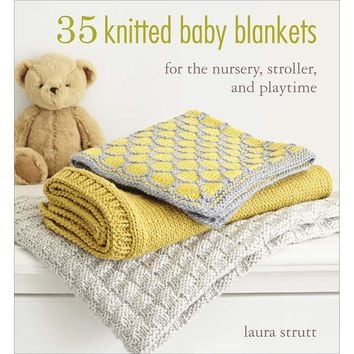Cico Books-35 Knitted Baby Blankets