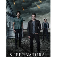 Supernatural Cloudy Sky Poster