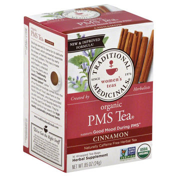 Traditional Medicinals PMS Tea - Caffeine Free - 16 Tea Bags