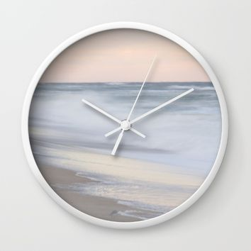 Left Behind Wall Clock by Horizon Studio
