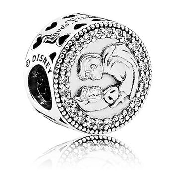 Disney Parks 80th Snow White Seven Dwarfs Sterling Silver Charm Pandora New