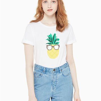 pineapple shades tee