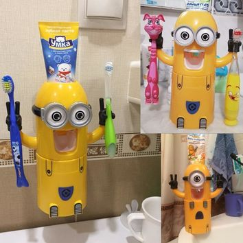 Automatic Kids Minions Toothpaste Dispenser