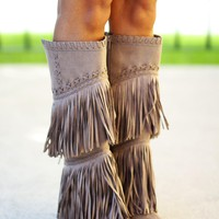 G-Funk Taupe Boots