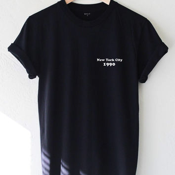 New York City 1990 Tee - Black