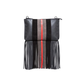 Getty Fringe II Clutch