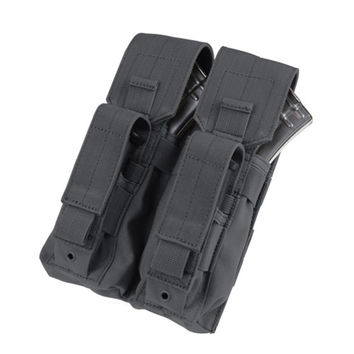 Double AK Kangaroo Pouch Color- Black