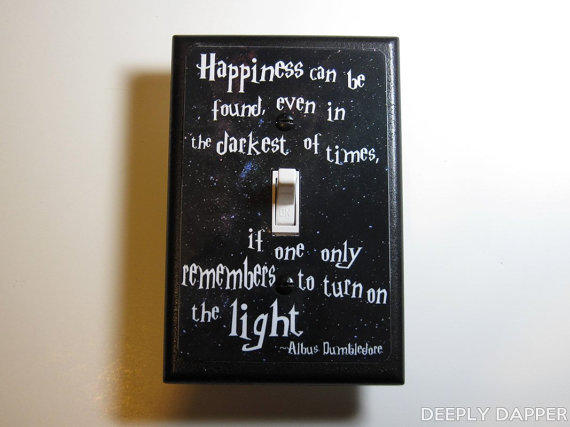 Harry Potter Dumbledore Quote Jumbo From Deeply Dapper