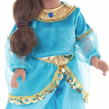 Little Adventures Arabian Princess Doll Dress