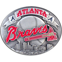 Atlanta Braves Team Belt Buckle