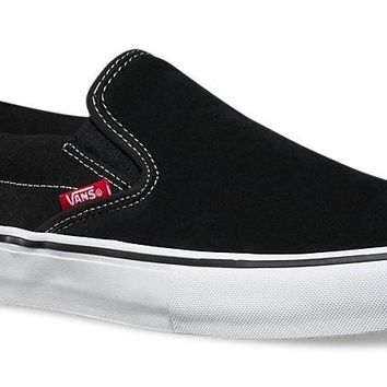 Vans Slip On Pro-Black/Wht/Gm