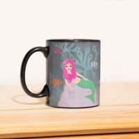 Mermaid Heat Change Mug | FIREBOX