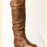 Steve Madden Candence Boot in Tan