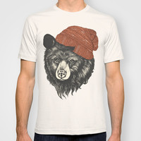 zissou the bear T-shirt by Laura Graves