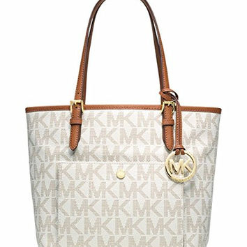 Michael Kors Travel Logo Tote Fulton Small Saffiano Crossbody bag Fulton Carryall Wallet