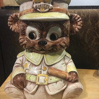 Chief Bear Cookie Jar by Treasure Craft