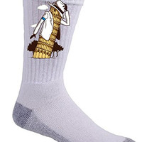 'LEAN' Funny Music Legend & Italian Landmark Parody - Crew Socks