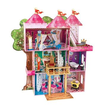 Dollhouse Storybook Mansion with 14-Piece Furniture & Accessory Set by KidKraft