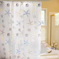 Starfish Shower Curtain