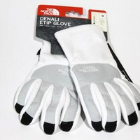 The North Face Women's Denali Etip TNF White Gloves